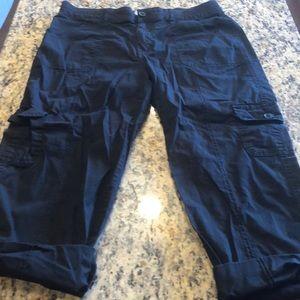 St John's Bay Capri Cargo Pants